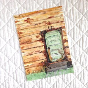 """Old Door"" 5x7 Artwork Print"